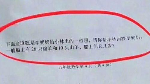 Câu hỏi 'xoắn não' của học sinh lớp 5 gây tranh cãi tại Trung Quốc