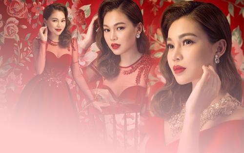 Giang Hồng Ngọc hoá nàng xuân rực rỡ trong bộ ảnh đón năm mới
