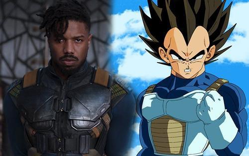 Trang phục của kẻ phản diện Killmonger trong 'Black Panther' lấy cảm hứng từ Vegeta (Dragon Ball)?
