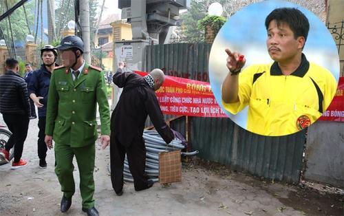 Cựu còi vàng Dương Mạnh Hùng bị công an 'tuýt còi': 'Tôi không làm xấu bóng đá Việt Nam'