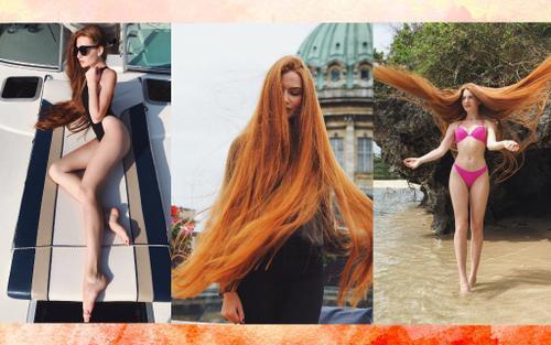 Vượt qua nghịch cảnh, cô gái Nga mắc bệnh rụng tóc trở thành nàng Rapuzel ngoài đời thực khiến cả thế giới ngạc nhiên