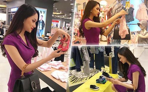 Âm thầm mua đồ trẻ em tại Thái Lan, hoa hậu Hương Giang sắp nhận con nuôi?