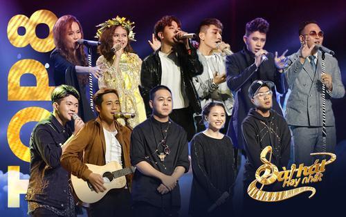 Không cần 'Giải cứu', đây là 8 thí sinh 'sải chân' bước thẳng vào chung kết Sing My Song 2018
