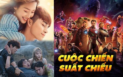 Phim Việt bị 'Avengers' đè bẹp? Cuộc chiến suất chiếu và cách quản lý phim rạp của Trung - Nhật - Hàn