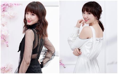 Chán style kín đáo, Hariwon 'mạnh dạn' khoe nội y đen gợi cảm trong trang phục xuyên thấu