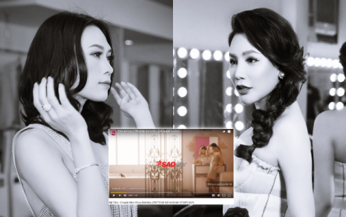 Phát hiện thú vị: MV Hồ Quỳnh Hương chạy quảng cáo ngay trên MV Mỹ Tâm
