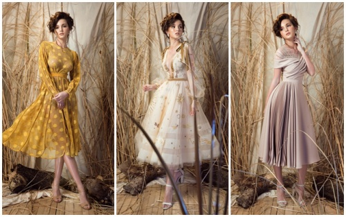 Hoa hậu Nga Aibedullina Talliya hóa công chúa e ấp trong thiết kế của Lê Thanh Hòa