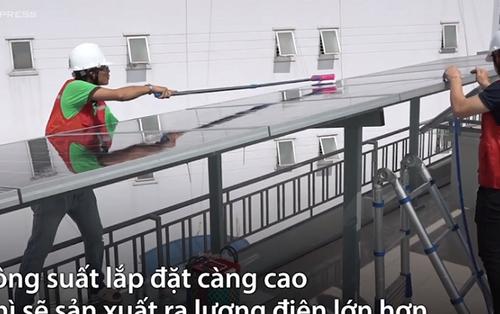 Lắp điện năng lượng mặt trời vừa dùng vừa bán ở Sài Gòn