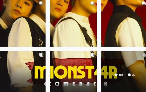 MONSTAR lần đầu hé lộ thành viên thứ 4, xác nhận trở lại trong tháng 6