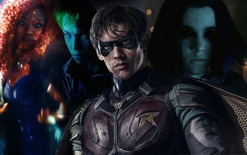 Fan chê bai tạo hình các siêu anh hùng trong trailer 'Titans'