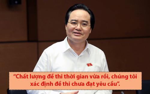 Clip: Loạt phát ngôn đáng chú ý của Bộ trưởng Phùng Xuân Nhạ sau bê bối điểm thi THPT Quốc gia 2018
