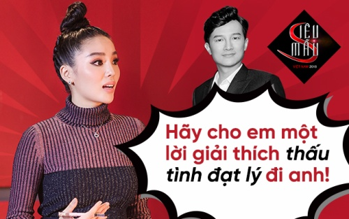 Kỳ Duyên bức xúc khi giám khảo 'đẩy hết' thí sinh mạnh về đội Hương Giang