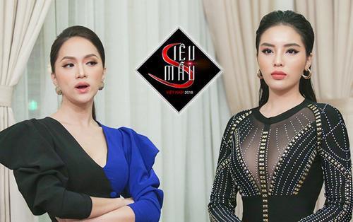 Tập 2 Siêu mẫu Việt Nam 2018: Căng thẳng với thí sinh, Kỳ Duyên mời luôn Hương Giang ra khỏi phòng