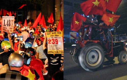 Thật tuyệt vời, chúng ta lại được sống những ngày vui náo nức với chiến thắng của Olympic Việt Nam