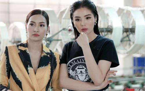 Tập 2 Siêu mẫu Việt Nam: Mặc váy siêu ngắn, Kỳ Duyên vẫn lăn xả chỉnh dáng cho thí sinh