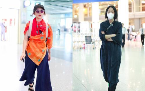 Đại Hoa đán nhưng thời trang sân bay của Châu Tấn liên tục bị chê thảm họa