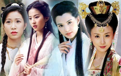 13 bông hồng tuyệt sắc giai nhân trong loạt phim võ thuật của Kim Dung (P.1)