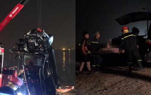 Thông tin chi tiết vụ xe Mercedes lao xuống sông Hồng trong đêm, đôi nam nữ thiệt mạng
