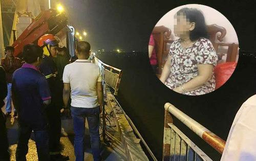 Vụ xe Mercedes lao xuống sông Hồng: Chiếc xe 2 lần tăng giảm tốc độ bất thường trước khi gặp nạn