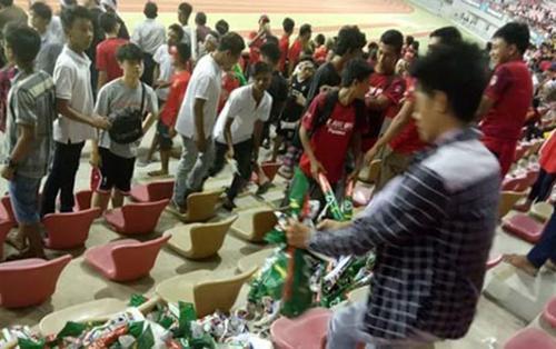 Cả Đông Nam Á sửng sốt vì hành động đẹp chưa từng thấy của CĐV Myanmar