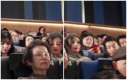 Khi 'Én nhỏ' Triệu Vy chính là 'vạch phân cách' giữa Huỳnh Hiểu Minh và Angela Baby trong sự kiện