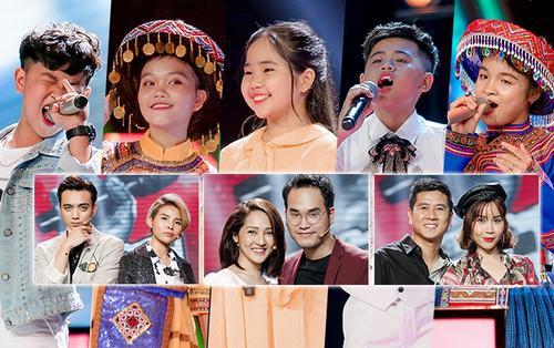 Các học trò tại Giọng hát Việt nhí chúc gì với thầy cô Hồ Hoài Anh - Lưu Hương Giang, Soobin - Vũ Cát Tường?