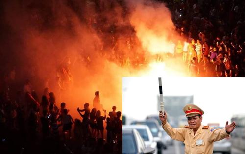 Hàng loạt vụ tai nạn giao thông, ẩu đả khi đi 'bão', giới hạn nào cho người hâm mộ khi ăn mừng chiến thắng đội tuyển Việt Nam?