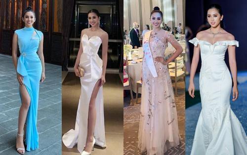Từng bị chê sến, nhưng váy áo của Tiểu Vy ở Miss World quả là hợp lý hợp tình