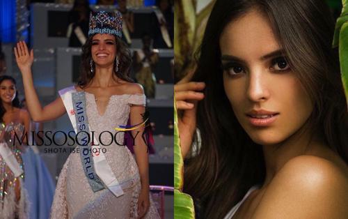 Nhan sắc gây tranh cãi của Tân Hoa hậu Thế giới 2018 người Mexico