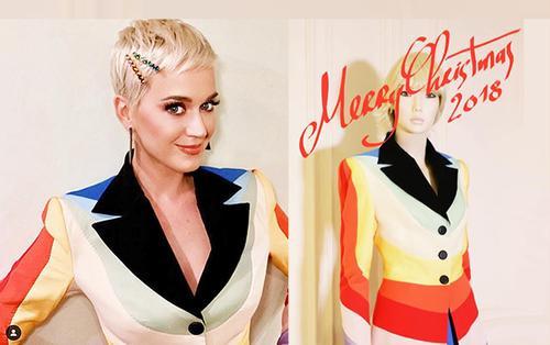 Katy Perry chơi nổi với bộ vest cầu vồng của NTK Nguyễn Công Trí khiến cộng đồng LGBT muốn 'bùng nổ'
