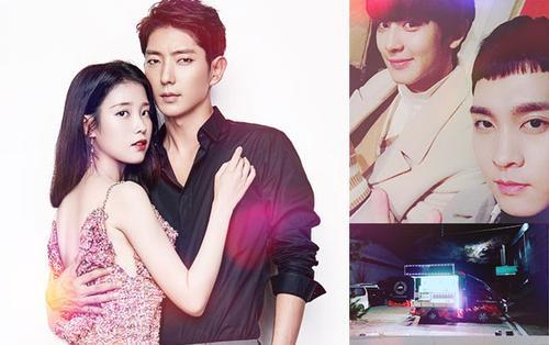 IU để lại tin nhắn vui nhộn trên Instagram của 'Tứ hoàng tử' Lee Jun Ki