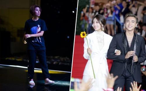 Trước thềm chung kết Soobin 'bỏ' Vũ Cát Tường, 'tay trong tay' cùng Ji Yeon dự nhạc hội