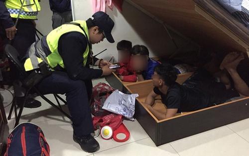 Từ thanh niên Việt mang ma túy đá, cảnh sát Đài Loan bắt 3 người nghi lao động bất hợp pháp