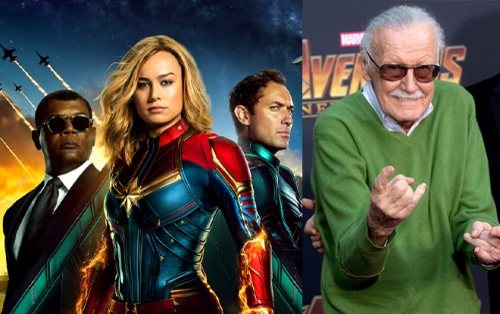 'Captain Marvel' có bao nhiêu after-credit? Màn 'tribute' ông trùm Marvel Stan Lee chạm đến trái tim khán giả