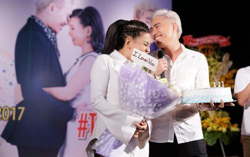 Cát Phượng tiết lộ Kiều Minh Tuấn ngủ riêng và 'xem nhau như người xa lạ' trên phim trường