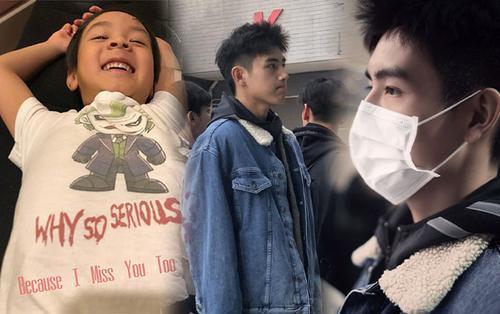 Ngô Tôn khoe quý tử chui vào vali vì ba đi công tác - Trần Phi Vũ đẹp không góc chết tại Học viện điện ảnh Bắc Kinh