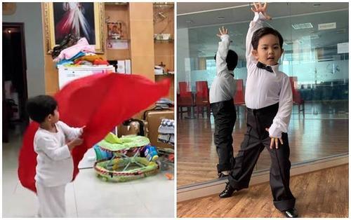 Con trai Phan Hiển- Khánh Thi gây cười khi nghiêm khắc 'dạy bảo' cả mẹ