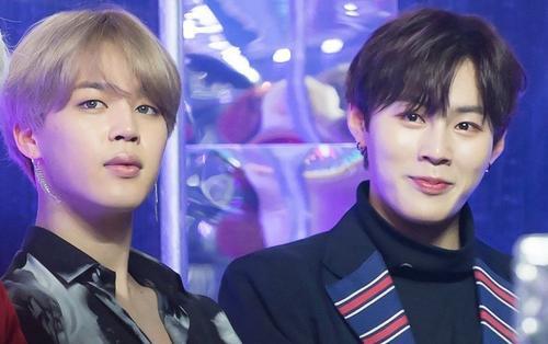 Ấm áp vô cùng cách Jimin (BTS) ủng hộ bạn thân Ha Sung Woon (WANNA ONE) ngày tái xuất