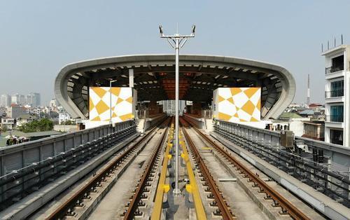 Giá vé trên tuyến đường sắt đô thị 2A Cát Linh - Hà Đông thấp nhất từ 8.000 đồng