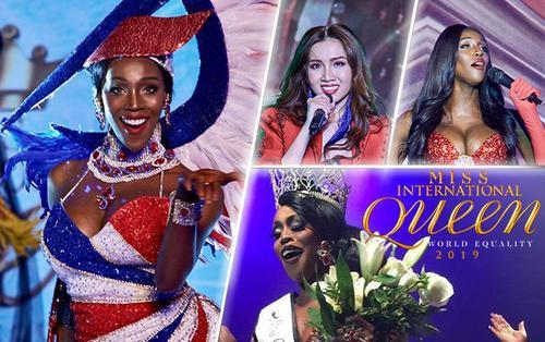 Đối thủ vượt mặt Nhật Hà vòng Talent: Hoa hậu lục địa Mỹ chuyên 'hát nhép', siêu hở hang