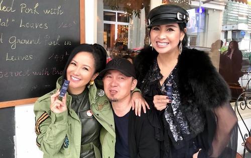 Hồng Nhung bác bỏ tin đồn 'chuyện 3 người', thân thiết bên cạnh Quốc Trung