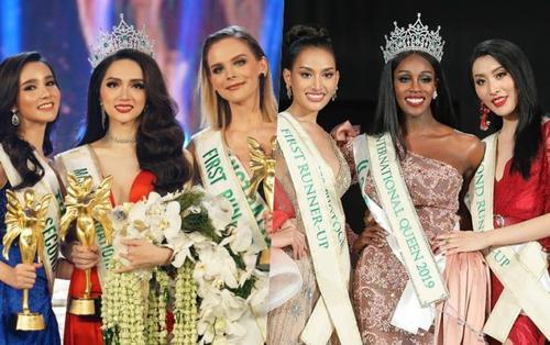 Đọ sắc Top 3 Miss International Queens 2 mùa: Mọi so sánh đều trở nên khập khiễng?