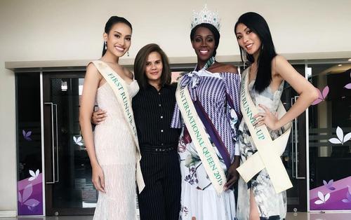 Top 3 Miss International Queen 2019 tái xuất: Hoa hậu gây hụt hẫng, á hậu 1 mới là tiêu điểm chú ý