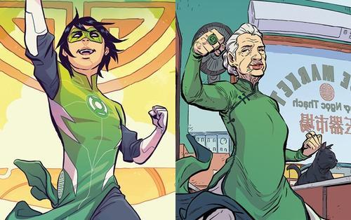 DC giới thiệu siêu anh hùng gốc Việt đầu tiên: Green Lantern thiếu niên trong bộ đấu phục áo dài