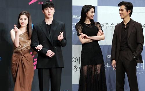 Họp báo 'Kill It', 'Doctor Prisoner': Jang Ki Yong - Nana và Nam Goong Min - Nara, cặp nào đẹp đôi hơn?