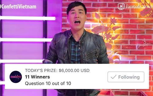 Trời ơi tin được không, mỗi người thắng Confetti Vietnam hôm nay nhận được tới hơn 12 triệu đồng