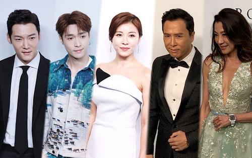 Ha Ji Won, Choi Jin Hyuk cùng Chân Tử Đan - Lay (EXO) tham dự 'amfAR Gala Hong Kong 2019'