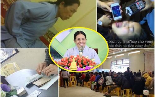 Chủ tịch UBND TP Uông Bígiải thích lí do phạt 5 triệu đồng với bà Phạm Thị Yến trong việc 'truyền vong báo oán' ở chùa Ba Vàng