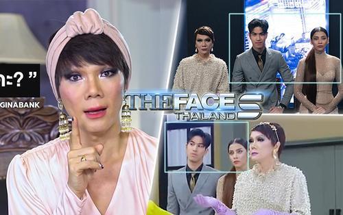 Chiến thắng tập 5 The Face Thái, Gina - Bank vẫn là 'bình hoa câm lặng' của chị đại Art?