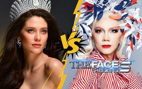 Tức điên vì 'chị đại' Art ngang ngược, Hoa hậu Hoàn vũ Thái thề loại sạch đội Gina - Bank